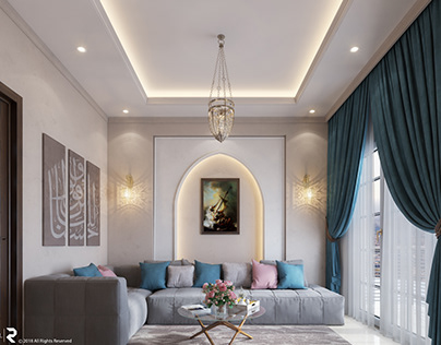 Living room Design, Egypt.