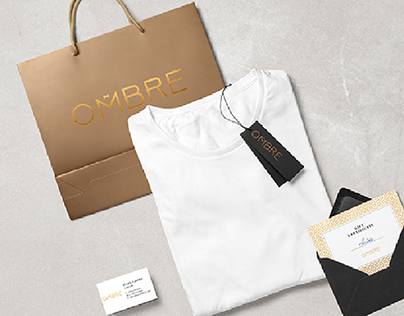 OMBRE branding, online shop man clothes.