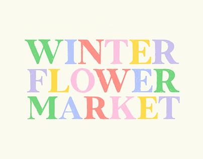 WINTER FLOWER MARKET - IDENTITÉ VISUELLE