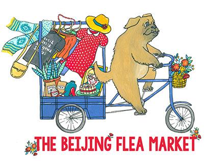 The Beijing Flea Market Brand Identity