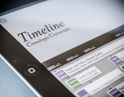 Timeline - Cronologia Universale - iPad App