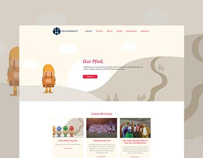 Webdesign - DPSG Ammersricht