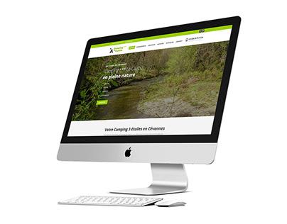 CAMPING LE CAYLOU - WEBSITE WEBDESIGN