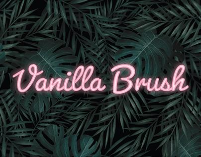 Vanilla Brush | Logo and business cards design