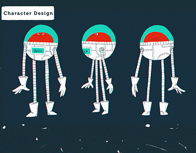 Interstellar Story /// Children's book concept design