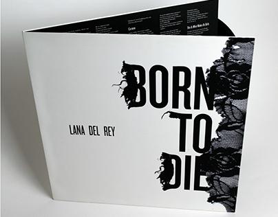 LP Design // Lana Del Rey