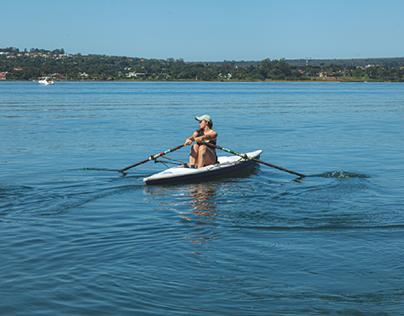 Dia de remo   Paranoá lake