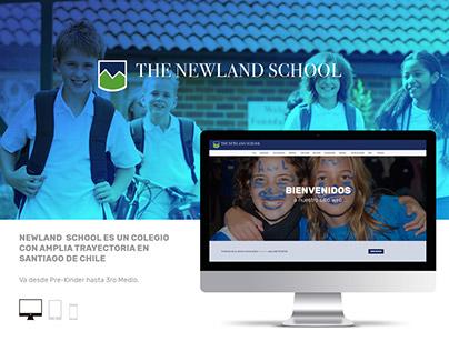 Sitio web Newland School