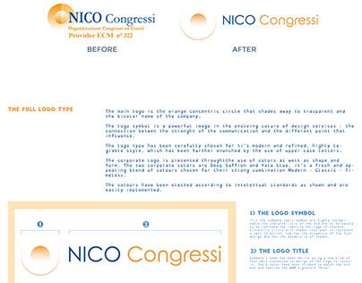 Nico Congressi rebranding Laura Parenti