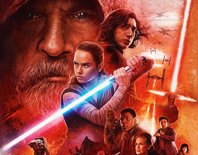 Star Wars: The Last Jedi Dolby Cinema Poster