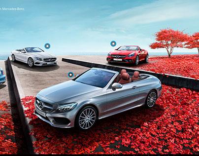 Mercedes-Benz Cabriolet Webspecial