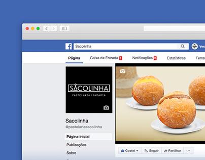 Gestão de Facebook Sacolinha