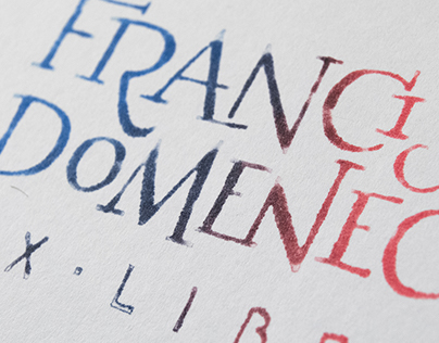 Ex-libris Francisco Domenech