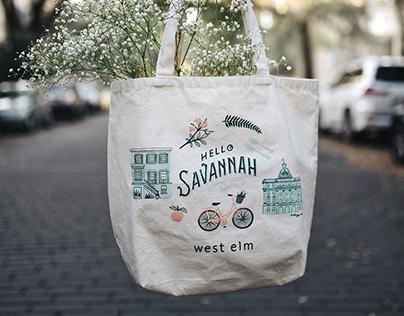 West Elm Savannah