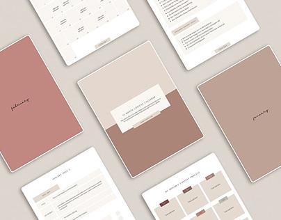 Content Calendar | Planner Template