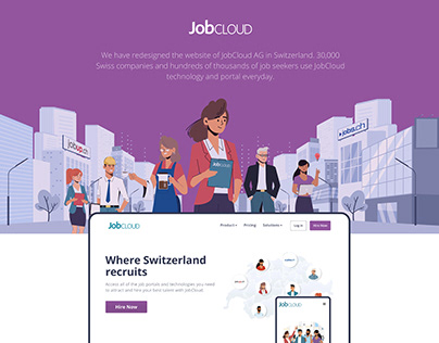 JobCloud Website