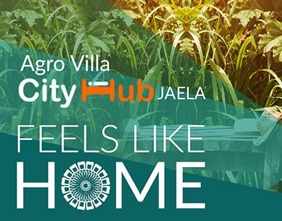 Agro Villa City Hub magazine ads