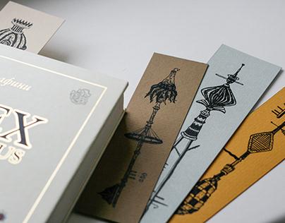 """Four Keys"" - booksmarks + stickerpack"