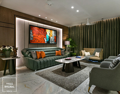 Apartment in Mumbai contemporary design