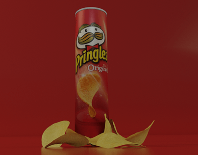 Advertisement Animation for Pringles