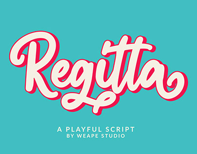 Regitta – Playful Script