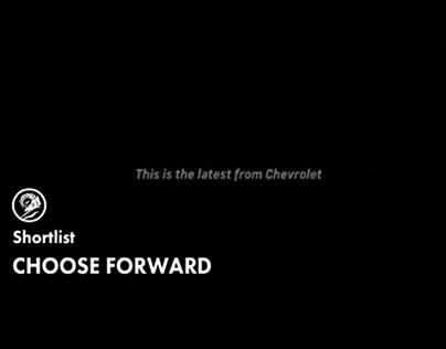 Chevrolet: Choose Forward