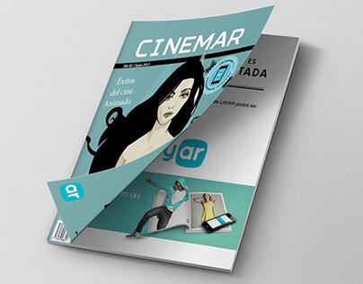 Magazine Augmented Reality con Layar