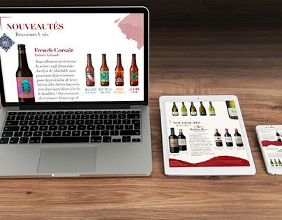 Brand identity - Sens & Vins