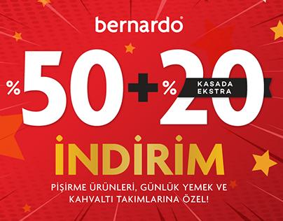 bernardo - Yılbaşı Kampanyası