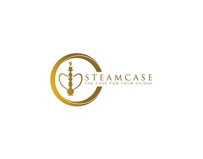 Steamcase Logo Design