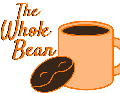 Landing Page Wireframe & Web Design: The Whole Bean