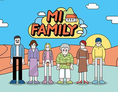 MI FAMILY 米家人-Campaign website