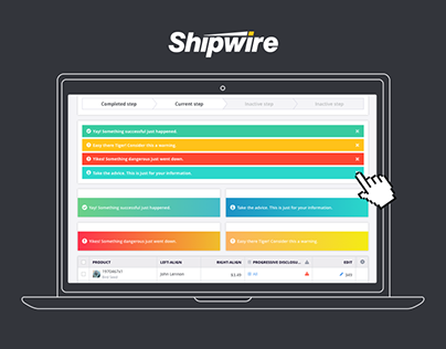 Shipwire Application UI