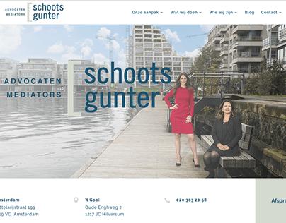 Website voor SchootsGunter Familierecht Amsterdam