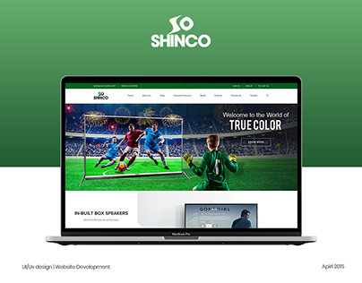 Shinco LED TV | Website Design