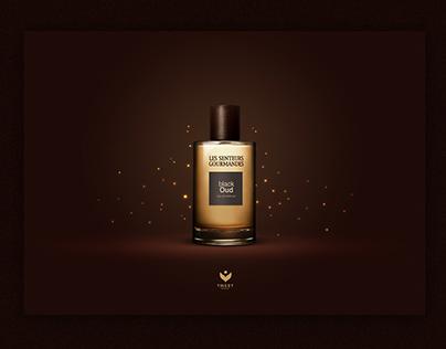 Advertisement tweet perfume
