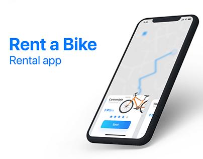 Rent a bike | Rental app
