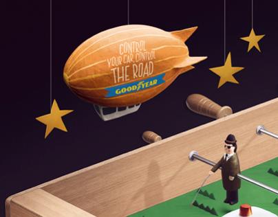 Goodyear - Foosball Table
