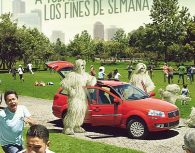 Fiat Palio Weekend - No importa que familia sea