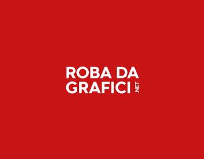 Robadagrafici.net - Logo Redesign