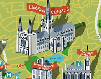 Illustrated Tourist City Maps