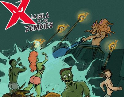 Maxxx Energy - La Isla de los zombies