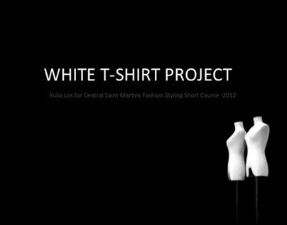 """CSM: """"Stylists, white t-shirt project, come on!"""""""