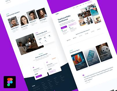 Service Page UI Design