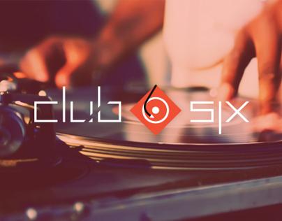 Club Six - Branding & Identity