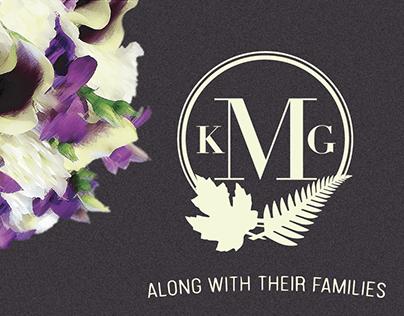 Kayla & Gene Meredith - Wedding Invitations