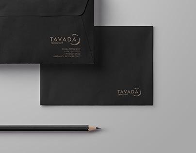 Tavada Restaurant Branding