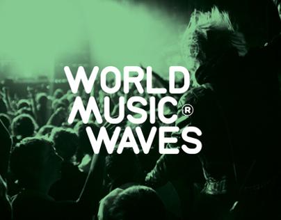 World Music Waves identity