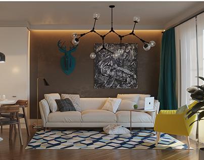 Квартира для молодой творческой семьи