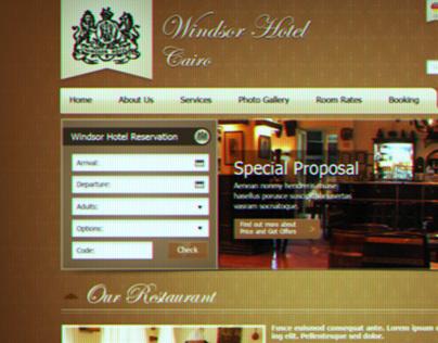Windsor Cairo Website